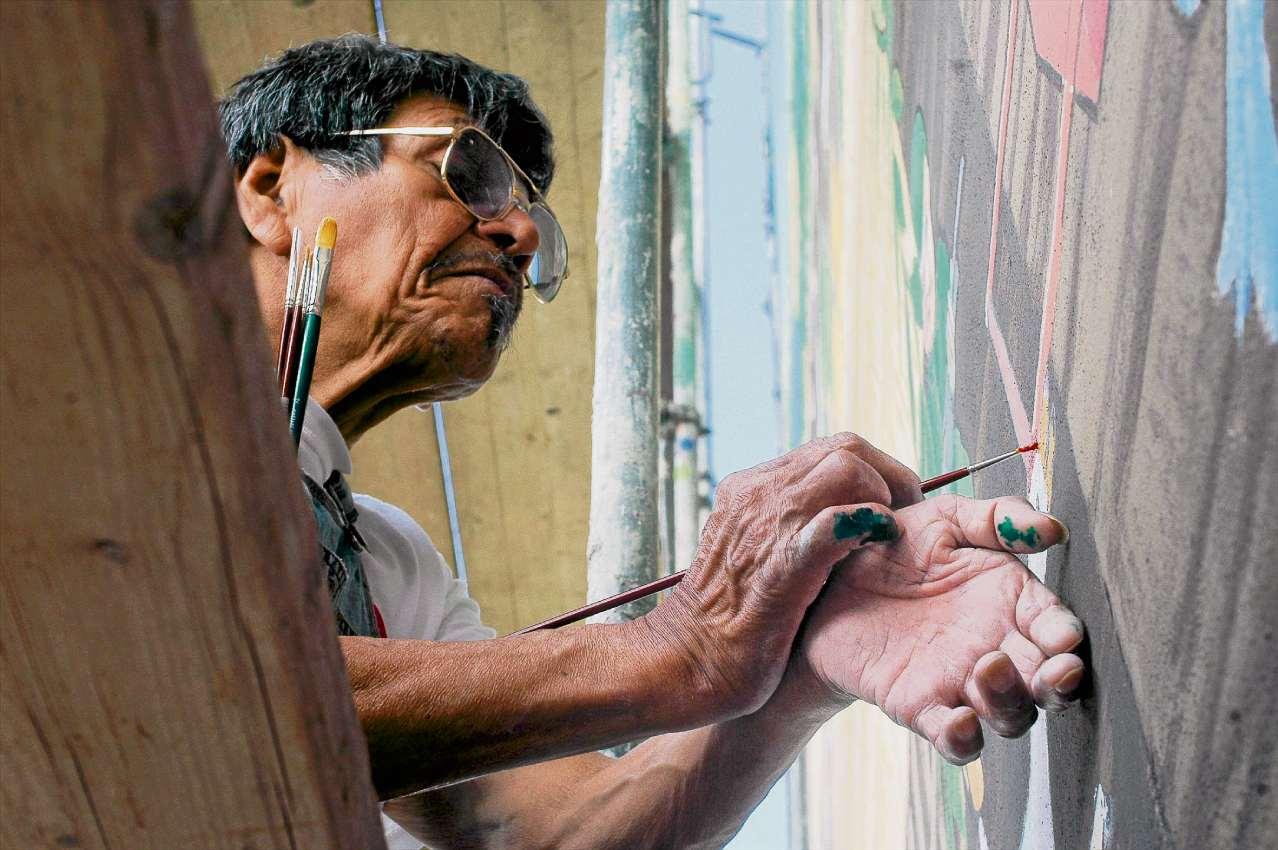 Naive Malerei: Ausstellung zum 80. Geburtstag von Manuel García Moia