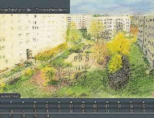 Kalender 2018 sind gedruckt