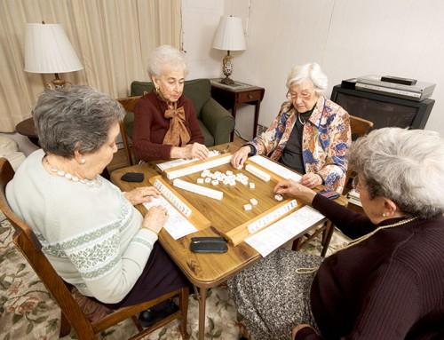 Wie ältere Menschen wohnen